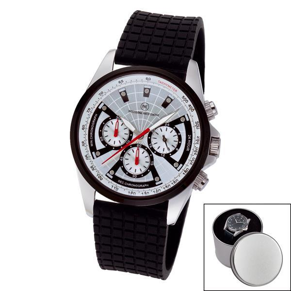 Chronograph ´Odeon SP silber´