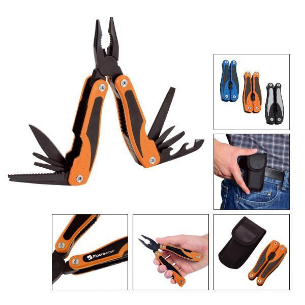 Multi-Tool mit 12 Funktionen ´Duo orange´