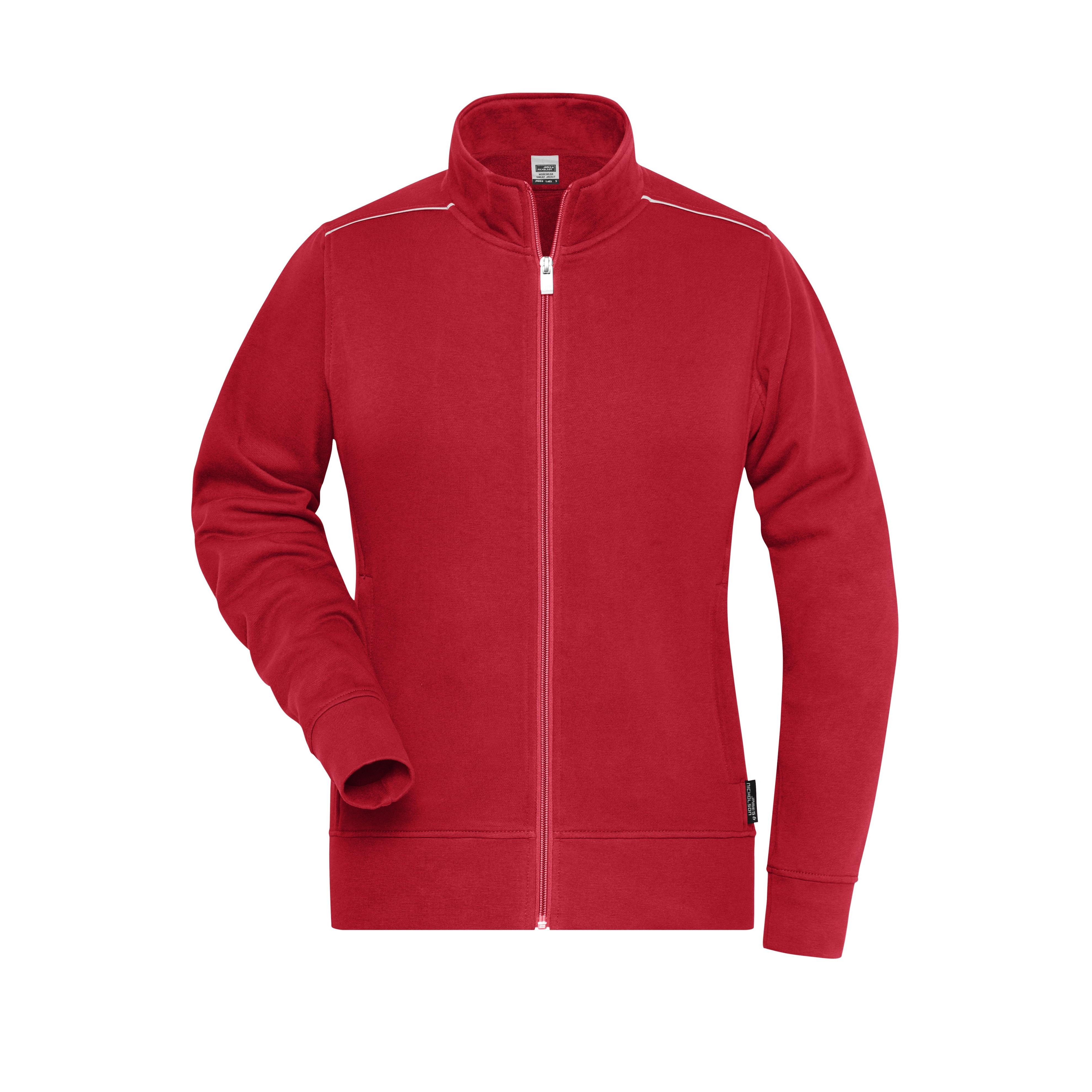 Ladies´ Workwear Sweat-Jacket - SOLID -